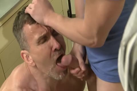 two filthy DADDYS poke two MUCH YOUNGER dudes