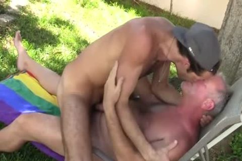Landon And Daddy T fuck raw