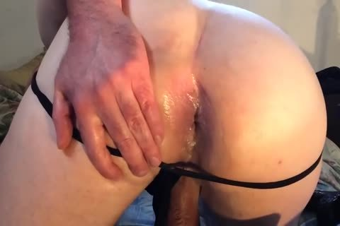 homo biggest dark sextoy ass LOOSE arsehole