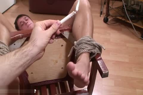 Kolja Feet Tickle torture - Russian