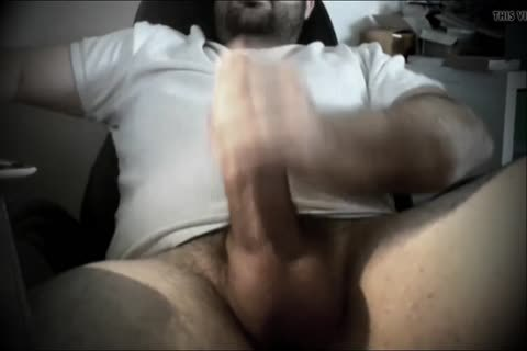 thick penis Bear Shows penis And jack off Hard For you - Part 03