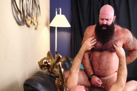 Two hairy Bearded Bears plowing kinky - Jason Victor West