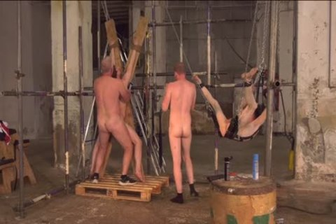 Tractable twinks tormented and pounded in coarse bare foursome