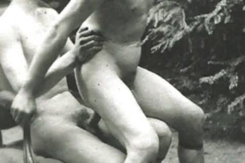 Granny's Attic Presents Vintage butthole plowing & engulfing