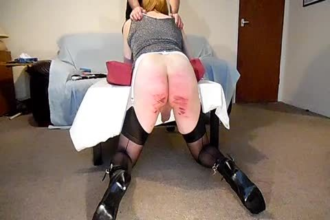 Discipline Day For Joanne two The Caning