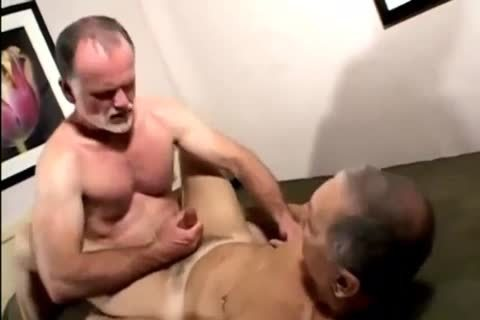 Two Daddies pounded Each Other And Cumming