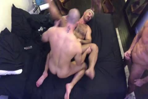 JC Adam K & Manuel S In raw Threeway