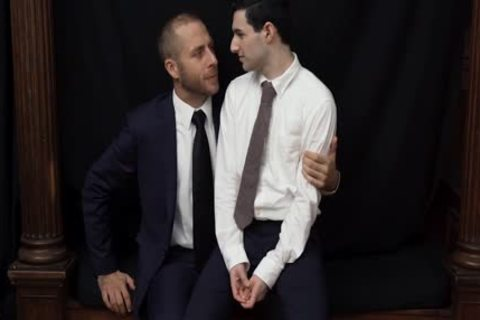 MormonBoyz - nasty Priest Punishes A young Missionary's butthole