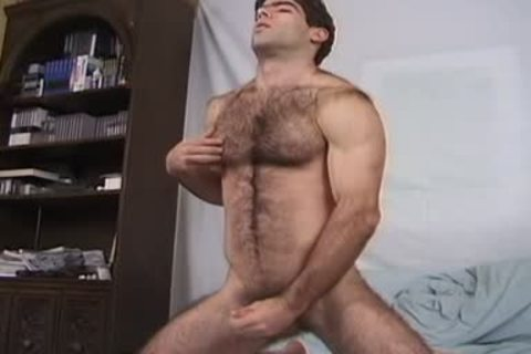 HairyJocksVideo - cute Dave & His Dildo_3