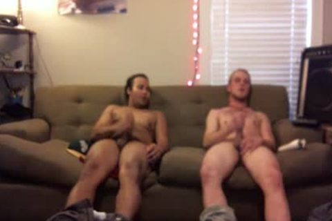 Secretley Filming Two boyz jerking off In My Room