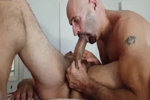 DEEPTHROAT AND fuck MASSAGE homosexual By Nudemassage