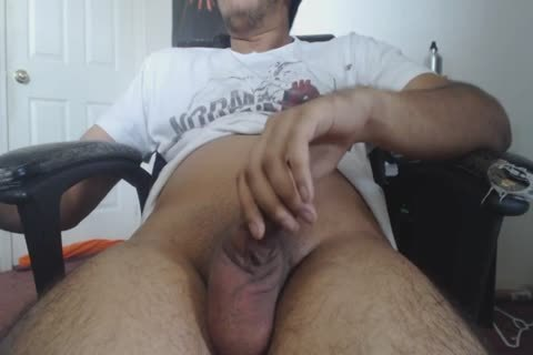 A cook jerking At Home For This tasty DILF