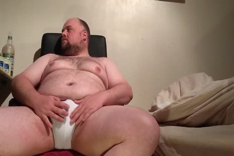 Chub Playing With Some dildos