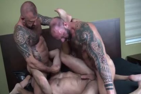 Barebacking With  JonGalt VicRocco & JakeMorgan