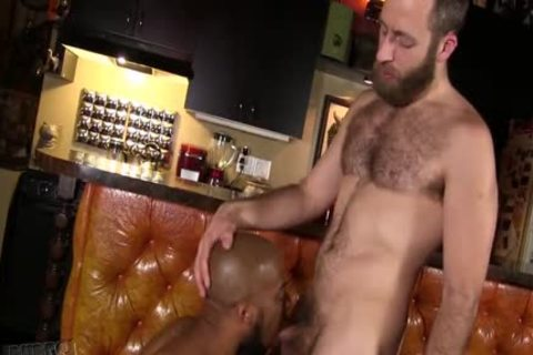 Interracial Bear Breeding With Joel anybody & Micah Martinez