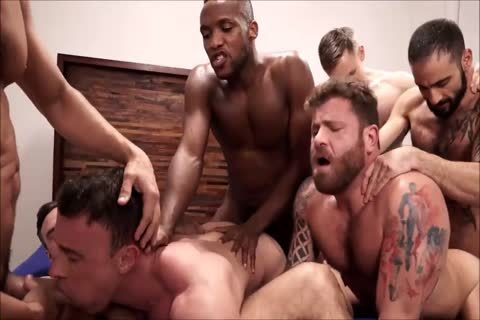 group Interracial bareback Sex