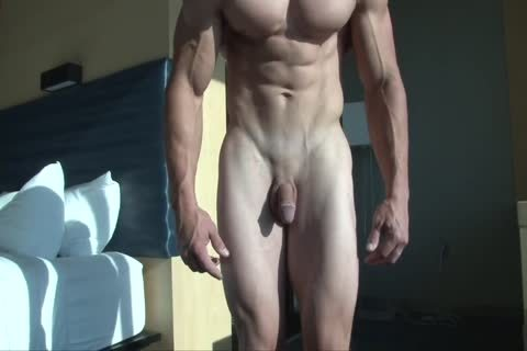 Greg N naked And Flexing