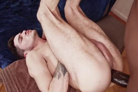 Interracial duett Barefuck With Mega cock