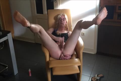 blond homosexual loves To Take It All In The ass