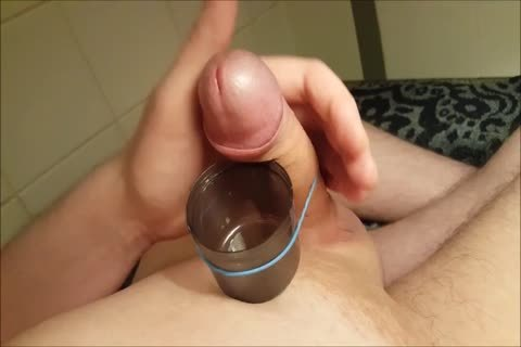 Edging & Cumming Into A Cup