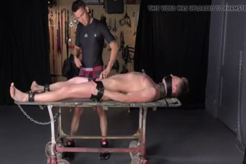 Tall Hung twink Cole Miller tied & Coercive To ball sex cream Multiple Times - Sadomasochism Homo bondage