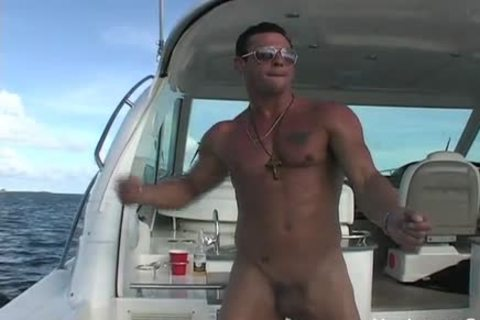Javier nude On A Boat