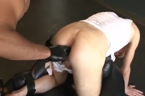 Daddy And His boy plow brutaly And With Discipline