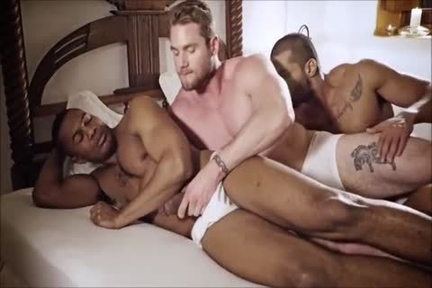 2black And 1ginger jock