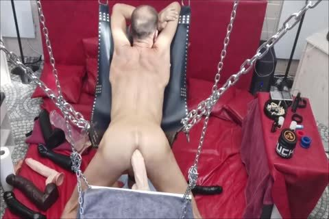 Sling Doggy With Swinging sex toy