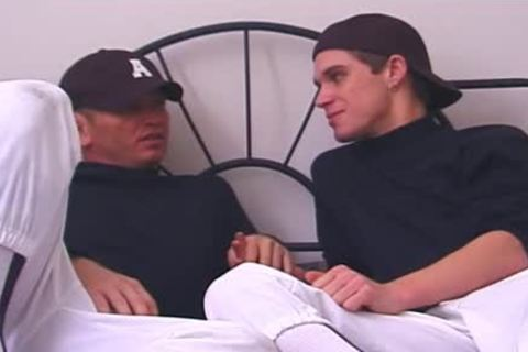 lascivious teens Share An Intimate pont of time After Baseball Game