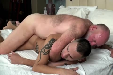 Father Comes Comfort In His Son's aperture