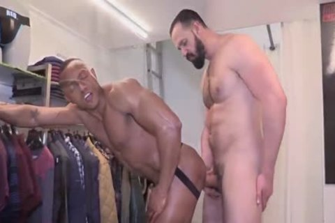 bare ShopaSexual With AndyOnassis & SantiSexy