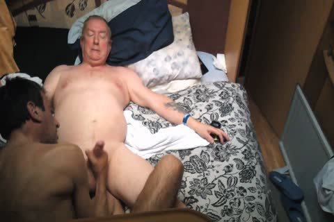 Wife Went Shopping grandpa Comes And bang Me