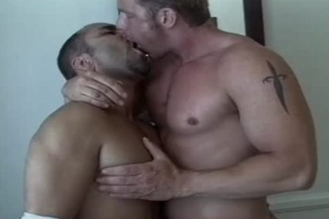 Tanned dudes have a joy An Intimate moment jointly