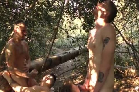 twinks plowing undressed In The Woods - Part two