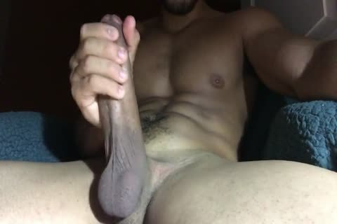 Stroking large 10-Pounder For one greater amount big sperm Load