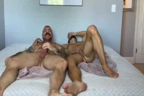 two biggest cocks 1 pussy!!!