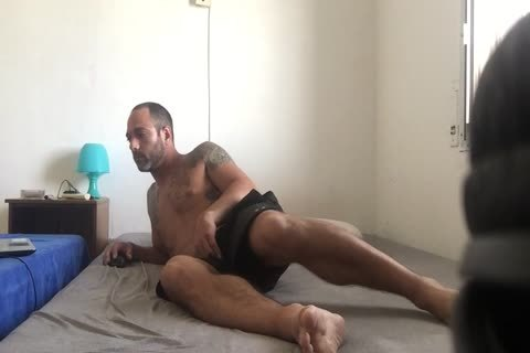 Hidden cam Catches Roommate web camera Model Broadcast Himself in nature's garb And Masturbating Showing Feet