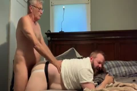 grandad And Bear sucking And fucking