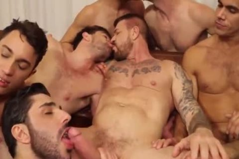 ROCCO orgy-10 man IN ACTION,suck,bang & sperm-WOW!