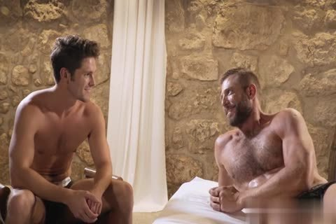 GayRoom - Dylan Knight banged By A Plunger And Peter Fields biggest 10-Pounder
