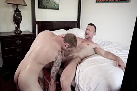 chic homo males bareback dril And Show Off Their Muscles