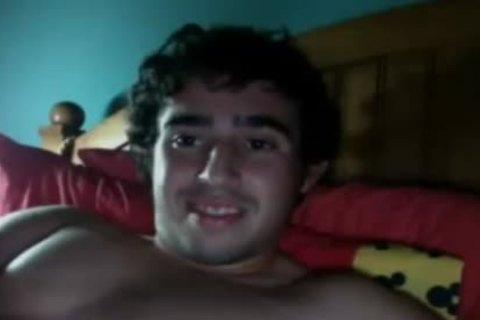 juicy young chap discharges A throbbing sperm Load After Masturbation