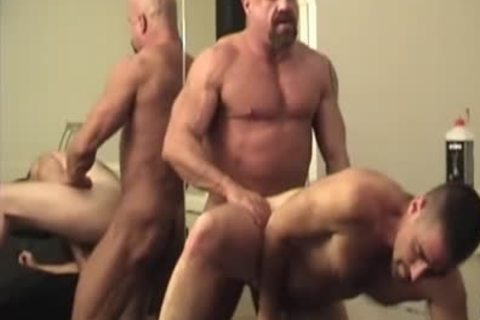 Muscle Bull And Bear Flip poke bareback