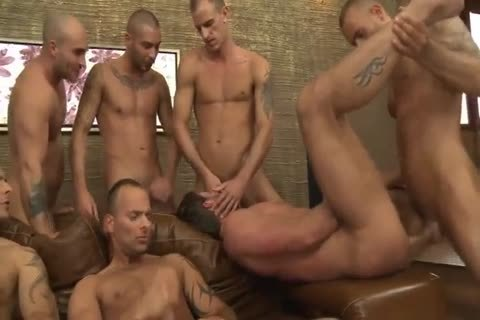 Toby Dutch acquires poked In A Seven-man unprotected gang gangbang