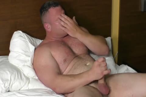 attractive Muscle Bear (Solo)