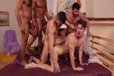 Devin Franco`s unprotected group bunch-sex