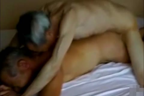 Two juicy And lustful Japanese daddy man's pound And engulf!