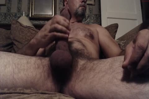 Hung hairy Daddy With A monstrous knob