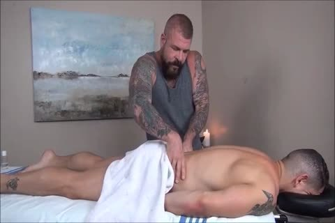 Rocco Steele's Dads bareback Massage